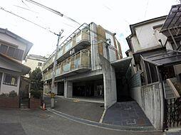 大阪府箕面市瀬川2丁目の賃貸マンションの外観