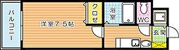 プランド−ル三萩野[2階]の間取り