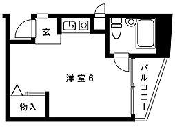 阪神本線 御影駅 5階建[306号室]の間取り