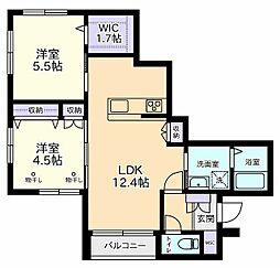 03514−0101[1階]の間取り