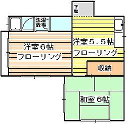 メゾン愛花夢[4階]の間取り