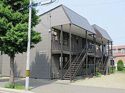 北海道札幌市東区北二十三条東13丁目の賃貸アパートの外観