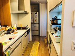 2WAYキッチンで家事動線楽々