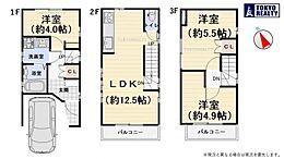 参考プラン:土地4300万円建物1680万円総額5980万円