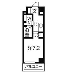 アーデン春岡[2階]の間取り