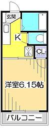 レピュート恋ヶ窪[1階]の間取り