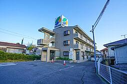 岡山県赤磐市岩田の賃貸マンションの外観