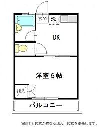 ブルックハウス[2階]の間取り