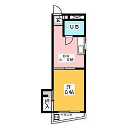 八田さかえビル[2階]の間取り