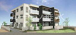 兵庫県三木市平田2丁目の賃貸マンションの外観