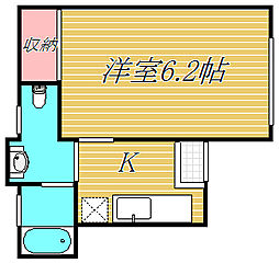 サンビームIII[1階]の間取り