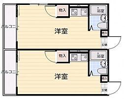 グリーンハイツ草津I[4階]の間取り