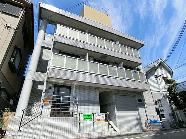 兵庫県西宮市池開町の賃貸マンションの外観