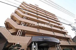 岡山県岡山市北区岡町丁目なしの賃貸マンションの外観