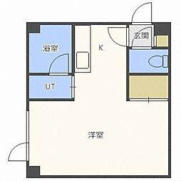 パラシオンN29[1階]の間取り