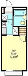 メゾン浦和[2階]の間取り