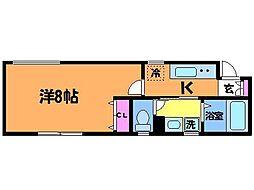 カーサセレージャ[1階]の間取り