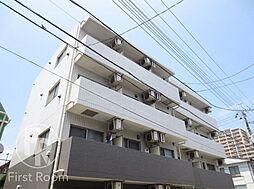 東京都大田区本羽田1丁目の賃貸マンションの外観