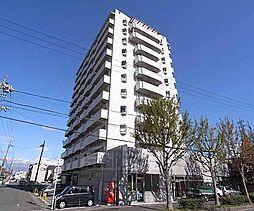 京都府京都市伏見区下鳥羽北ノ口町の賃貸マンションの外観