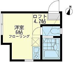 ユナイトステージ 南太田ジェスパーの杜[1階]の間取り