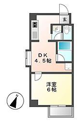 bespoke鶴舞[3階]の間取り