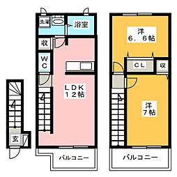 Mt.オータム[2階]の間取り