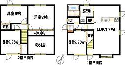JR根室本線 釧路駅 バス30分 昭和下車 徒歩7分 4LDKの間取り