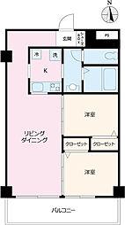 R3kawagoe[3F-E号室]の間取り