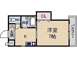 INTIMACY7[2階]の間取り