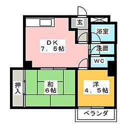 Gran Kasadera[2階]の間取り