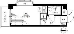 神奈川県大和市福田1丁目の賃貸マンションの間取り