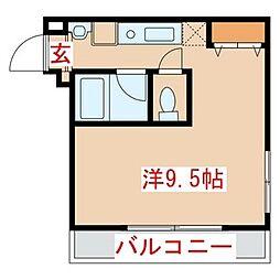 埼玉県さいたま市浦和区針ヶ谷1丁目の賃貸マンションの間取り