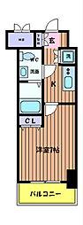 KDXレジデンス立川[8階]の間取り