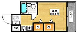 朝日プラザパレ・セーヌ[4階]の間取り
