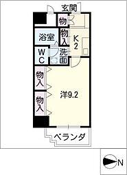 エスペランサ矢田南[1階]の間取り
