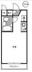 エヴェナール高円寺III コウエンジスリー[302号室]の間取り