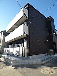 東京都足立区南花畑1丁目の賃貸アパートの外観