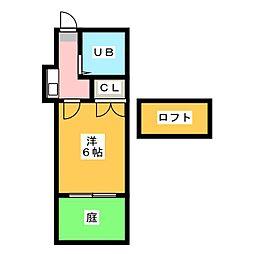 サングリーン水切[1階]の間取り
