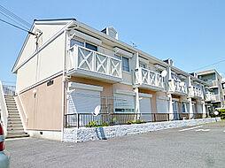 滋賀県草津市渋川1丁目の賃貸アパートの外観