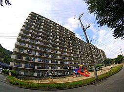 兵庫県宝塚市中山五月台7丁目の賃貸マンションの外観