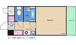 サンユタカマンション[2階]の間取り