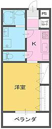 Hiトピア富士[5階]の間取り