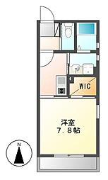 Brezza Nakamurakoen[3階]の間取り
