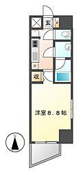 エルスタンザ徳川[5階]の間取り