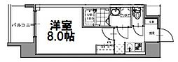 S-RESIDENCE新大阪WEST[907号室]の間取り
