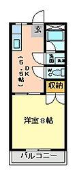 明和都市開発ビル[1階]の間取り