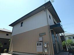 兵庫県神戸市北区鹿の子台北町5丁目の賃貸アパートの外観