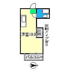 パレドール大津[4階]の間取り