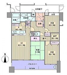 ライフ・デュオ小松[2階]の間取り