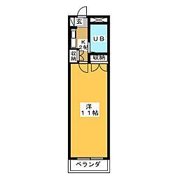 サンシャイン富士パートIII[1階]の間取り